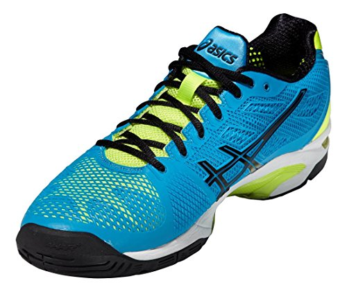 Asics Gel-Solution Speed 2 Tennisschuhe BLUE/ONYX/YELL