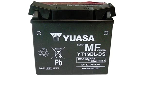 Yuasa YT12B-BS WC Maintenance Free Battery