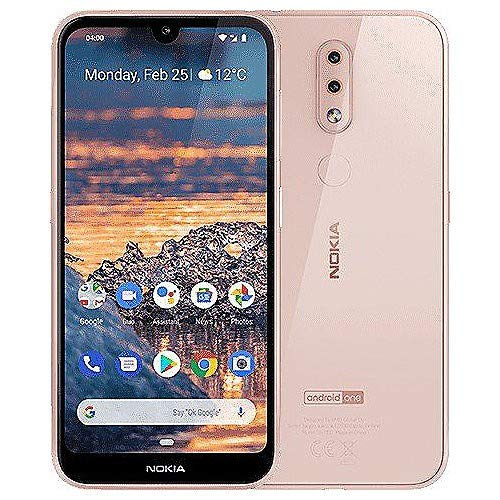 "Nokia 4.2 14,5 cm (5.71"") 3 GB 32 GB SIM Doble 4G Rosa 3000 mAh - Smartphone (14,5 cm (5.71""), 3 GB, 32 GB, 13 MP, Android 9.0, Rosa)"