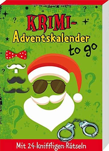 Krimi-Adventskalender to go: Mit 24 kniffligen Rätseln
