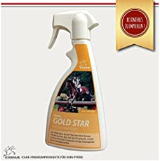 EMMA Criniera Spray con glitter oro per un glitzerndes pelliccia del Cavallo 500ML -