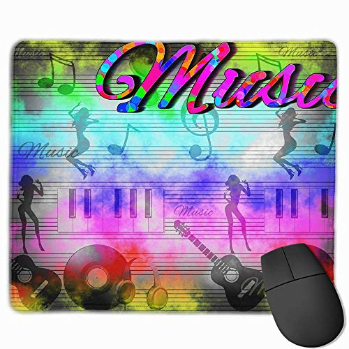 Drempad Gaming Mauspads Custom, Non-Slip Mouse Pads Rectangle Rubber Mousepad Music Girl Print Gaming Mouse Pad (Minecraft Wolf Girl)