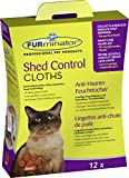FURminator 122449 Anti Hair Shed Control Cloths for Cats