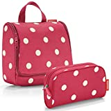 reisenthel Exklusiv-Set: toiletbag Plus GRATIS makeupcase (Ruby dots)