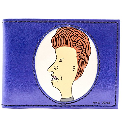 mtv-beavis-butt-head-dessin-anime-bleu-portefeuille
