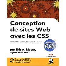 Conception de sites Web avec les CSS Nouveaux Prix