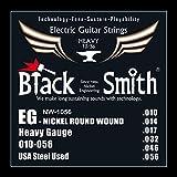 Black Smith 10-56 Jeu de Cordes pour Guitare électrique