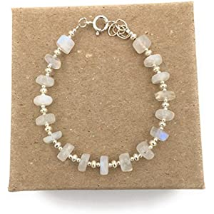 Silber-Armband und Mondstein