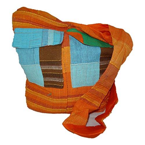 ThaiUK, Borsa a spalla donna arancione medium arancione