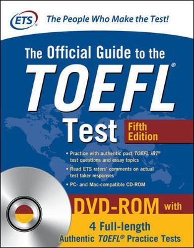 The official guide to TOEFL test. Con DVD-ROM (Official Guide to the Toefl Test) por N/A Educational Testing Service