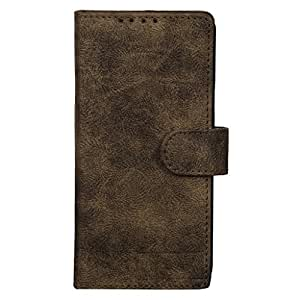 Dsas Artificial Leather Wallet Flip Cover designed for Micromax Canvas Hue 2 A316