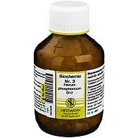 BIOCHEMIE 3 Ferrum phosphoricum D 12 Tabletten 400 St Tabletten preisvergleich bei billige-tabletten.eu