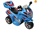 #8: Baybee Samurai Fx Battery Operated Sports Bike Toy For Kids - Blue