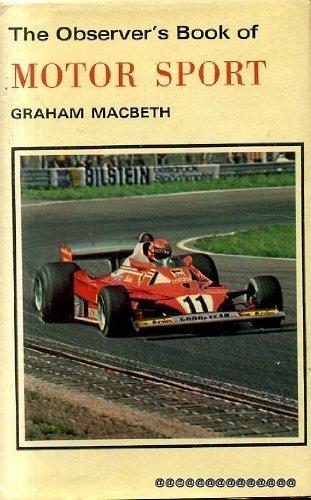 The Observer's Book of Motor Sport (Observer's Pocket S.) por Macbeth Graham