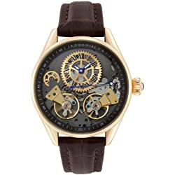 Rougois Men's Rose Gold Regal Double Escapement Automatic Watch RS8390G