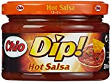 Chio Dip! Hot Salsa, 3er Pack (3 x 200 ml)
