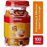 Dabur Honitus Cough Drops Jar - 100 Count (Honey Ginger)