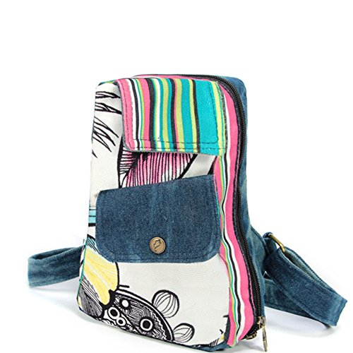 Geschleudert Paket/Cowboy Chest Pack/Canvas Tasche/Diagonale Chest Pack-A A