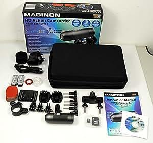 Maginon Action Sports HD1 HD Action Camcorder / 5 Megapixel / schwarz
