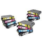 12x Drucker Patronen 2018 VIKDO für Epson PK 29 XL Expression Home XP 235 XP 245 XP247 XP332 XP342 XP345 XP 432 XP435 XP442 NEU
