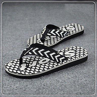 Sandali con tacco Slippers & Estate comfort personalizzato Materiali all'aperto piani degli uomini sandali US10 / EU43 / UK9 / CN44