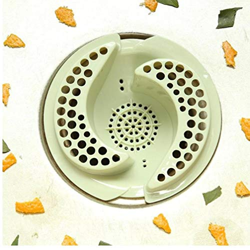 Oulensy Kunststoff Küchenablassschrauben Spüle Seiher Kanalisation Haar Filter Ausflußpfropfen Badezimmer Küche Reinigung Spüle Seiher -