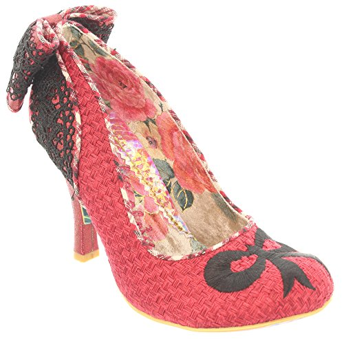 Irregular Choice, Scarpe col tacco donna 52 Rosso (Rosso)