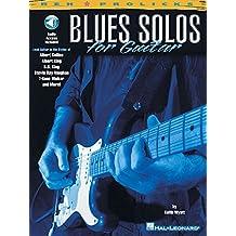Blues Solos For Guitar Tab Book/Cd (Prolicks)