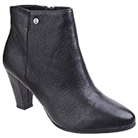 Hush Puppies New Ladies/Womens Black Morning Meaghan Fashion Boots - Black - UK Sizes 3-9