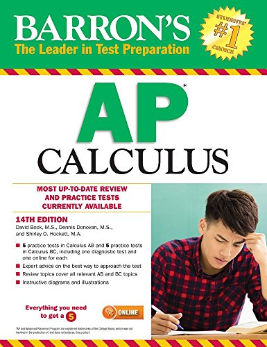 Barron's AP Calculus, 14th Edition por David Bock