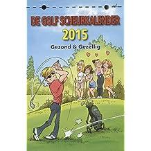 Golf scheurkalender 2015