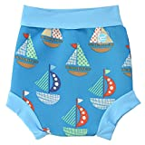 Splash About Kids' Reusable Swim Happy Nappy - Set Sail, Medium (3 - 8 Months)