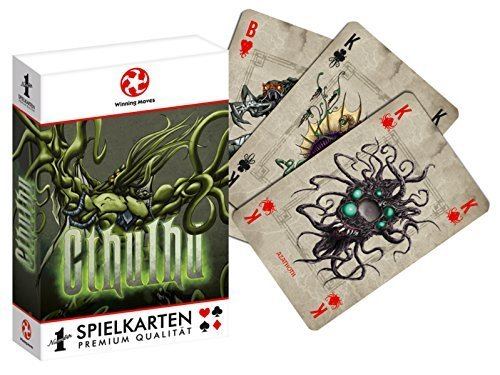 Winning Moves WIN30539 - Playing Cards: Cthulhu, Kartenspiel