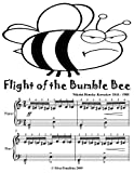 Flight of the Bumble Bee Easy Piano Sheet Music Tadpole Edition (English Edition)