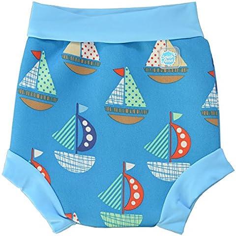Splash About Happy Nappy - Pañal de natación para niños de 12-24 meses, multicolor