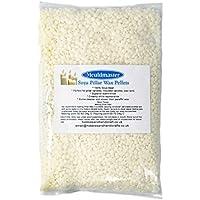 Mouldmaster Cire de bougie pilier de soja Granulés 10kg, crème/blanc cassé