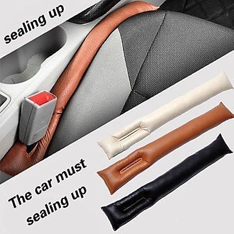 pu veicolo in pelle sedile spina Slot tenuta custodia protettiva (2 pezzi) , gray