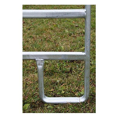 Kerbl Panel – Zaunelement 3,6 m mit Schnell-Kettenverschluss - 7