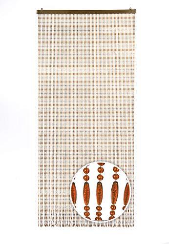Kobolo Türvorhang Amber Perlenvorhang 90x200 cm