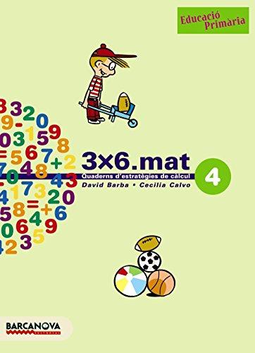 3x6.mat 4 - 9788448916909 (Materials Educatius - Cicle Inicial - Matemàtiques)