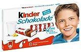 Ferrero Kinder Schokolade, 8 Riegel - 100g 4x