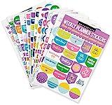 Essentials Weekly Planner Stickers: Set of 575 Stickers