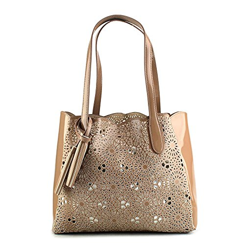 buco-large-starburst-tote-donna-marrone