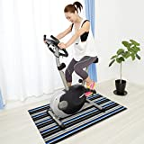 casa pura® Ravenna Fitness Floor Mat for Sports Equipment | Shock resistant, For all floors | 90x200cm | 2 Sizes