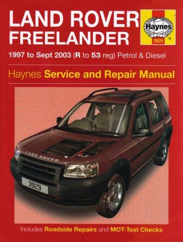 Land Rover Freelander Petrol and Diesel: 1997 to 2003 (Haynes Service and Repair Manuals)