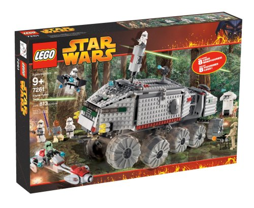 Star Wars Lego Episode III Clone Turbo Tank #7261 by LEGO -