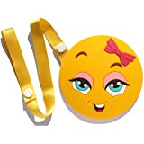 Chompies Girls Teething Toy For Stroller Car Seat High Chair Infant Teether Little Miss With Strap