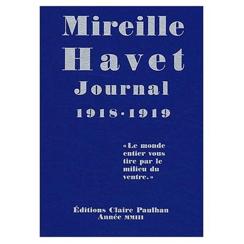 Journal 1918-1919