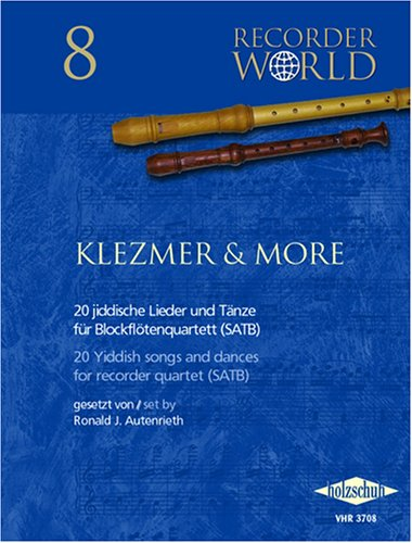 Recorder World: Klezmer & More, für Blockflöte