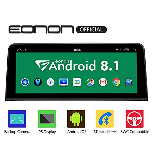 eonon GA9206NB Android 8.1 fit BMW X5 F15 (2014-2017) NBT Audio Stereo Unterstützung Apple Android Auto Play Retain iDrive DVD Bluetooth SWC Backup Cam 10.25